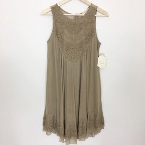 Altar'd state the Charlotte dress in mocha